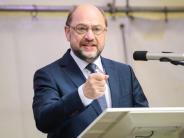 SPD-Kanzlerkandidat: Schulz:Seehofer spielt bei Obergrenze mit den Menschen