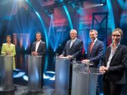 Bundestagswahlkampf: Die kleinen Parteien bieten das bessere «Duell»