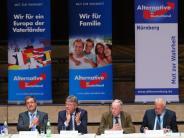 Wahlkampfveranstaltung: AfD-Chef Meuthen will Regierung «rückstandsfrei entsorgen»