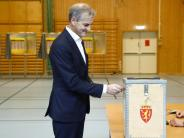 Enges Rennen erwartet: Norweger wählen neues Parlament