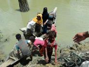 Vertreibung: Hunderttausende Rohingyas fliehen aus Myanmar