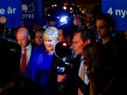 Kein Regierungswechsel: Konservative Regierung gewinnt Wahl in Norwegen