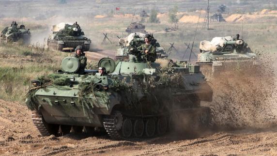 Russland und Weißrussland beginnen Manöver an EU-Ostgrenze