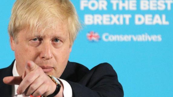 Außenminister Johnson prescht mit Brexit-Artikel vor