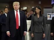 News-Blog: US-Botschafterin Haley: Trump-Anklägerinnen sollte zugehört werden