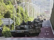 Eskalierender Konflikt: Bericht: Nordkorea verlegt Kampfflugzeuge an die Ostküste