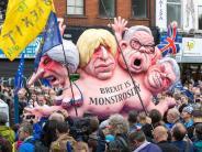 Gegen Brexit und Sparpolitik: Protest zu Auftakt des Tory-Parteitags