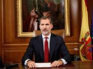 News-Blog: König Felipe weist Trennungspläne Kataloniens als inakzeptabel zurück