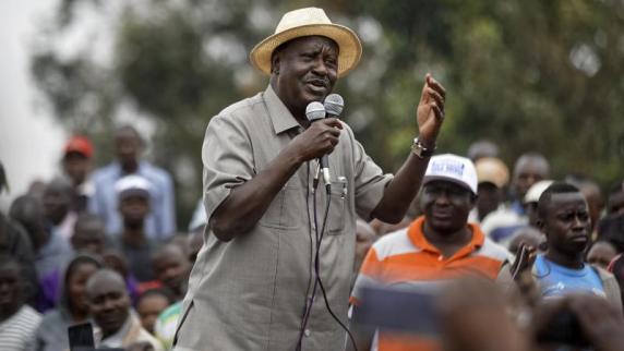 Kenias Oppositionsführer steigt aus Rennen um Präsidentschaft aus
