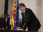 Ultimatum läuft: Katalonien-Konflikt überschattet Spaniens Nationalfeiertag