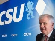 CSU-Chef warnt vor Eile: Seehofer erwartet schwierige Jamaika-Sondierungen