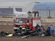 Pilot getötet: Wieder Kampfflugzeug in Spanien abgestürzt
