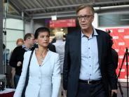 Kipping: Souverän geht anders: Wagenknecht weist Linke-Chefs in die Schranken