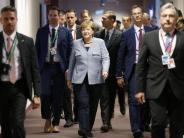 EU-Gipfel in Krisenzeiten: Merkel will weitere Milliarden für Flüchtlinge in der Türkei