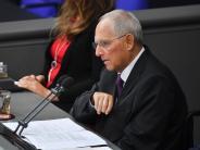 Mehr Abgeordnete denn je: Schäuble: Mehrausgaben für Parlament nicht entscheidend