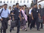 Nach internationaler Kritik: Suu Kyi schweigt auch in Rakhine zur Gewalt gegen Rohingya