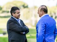 Deutsch-türkische Entspannung?: Gabriel trifft türkischen Außenminister in Antalya