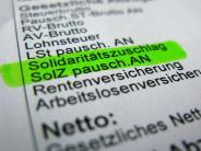 Gebrochenes Wahlversprechen: CDU-Wirtschaftsrat gegen «Soli»-Teilabschaffung