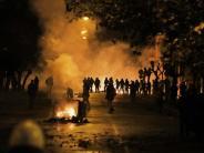 Gedenken an Aufstand: Krawalle bei Demonstration in Athen