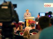 Landesparteitag der CDU: Merkel will keine Neuwahlen