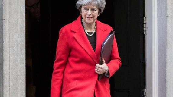 Britischen Medien zufolge wurde auch ein Attentat gegen Theresa May