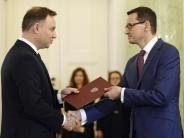 Wenige Stunden nach Ernennung: Polens Premier: Wir lassen uns nicht von der EU erpressen