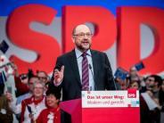 Bundesparteitag in Berlin: Schulz attackiert Union: «Habt Karren an die Wand gefahren»
