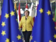 Asylpolitik prägt EU-Gipfel: Merkel beharrt auf Flüchtlingsverteilung in Europa