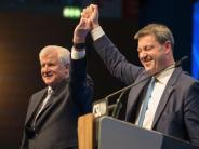 Nur 83,7 Prozent für Seehofer: CSU-Doppelspitze soll absolute Mehrheit verteidigen