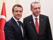 Treffen mit Erdogan: Macron will über EU-Türkei-Beziehung neu nachdenken
