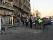 Doppelanschlag: Attentäter töten viele Menschen in Bagdad