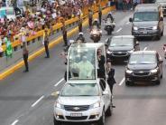 Umweltzerstörung am Amazonas: Papst Franziskus setzt Lateinamerikareise in Peru fort