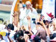 Besuch in Peru: Papst Franziskus prangert Umweltzerstörung und Korruption an