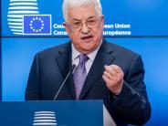 : Abbas: Staat Palästina anerkennen