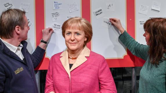 Kleine Runde um Merkel, Schulz und Seehofer berät über GroKo