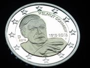Währung: Zwei-Euro-Münze: Helmut Schmidt kommt in den Geldbeutel