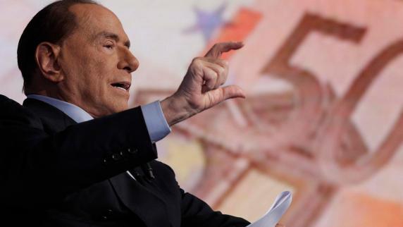 Berlusconi sagt im Wahlkampf erneut Fernsehauftritt ab