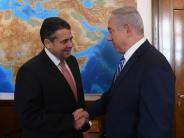 Israel-Besuch: Gabriel fordert von Israel Strategie im Nahost-Konflikt