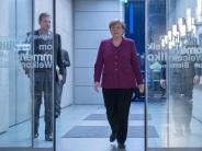 Große Koalition: Merkel geht in die Offensive:Regiere volle vier Jahre