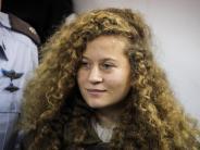 Vor Militärgericht in Israel: Prozess gegen 17-jährige Palästinenserin Tamimi eröffnet