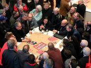 Kein Kommentar zu Gabriel: Basisoffensive:SPD-Spitze von «GroKo»-Ja überzeugt