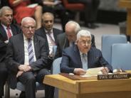 Rede in New York: Abbas will UN-Vollmitgliedschaft für Palästina