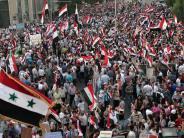 Syrien-Konflikt: Sieben Jahre Syrienkrieg: Vom Bürgerprotest zur internationalen Krise