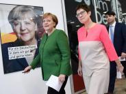 Designierte Generalsekretärin: Kramp-Karrenbauer erwartet Konflikte mit Merkel