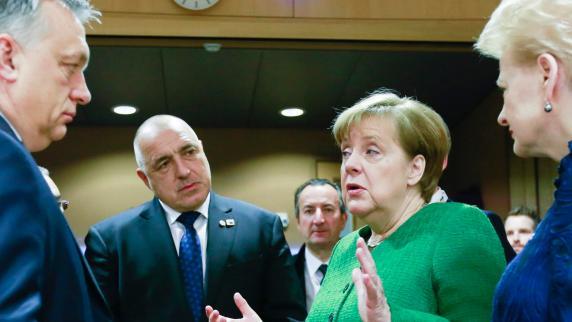 EU-Gipfel: Angela Merkel bringt Osteuropa gegen sich auf