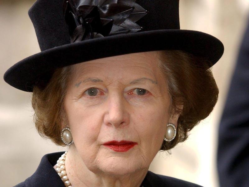 Margaret thatcher das war die eiserne lady