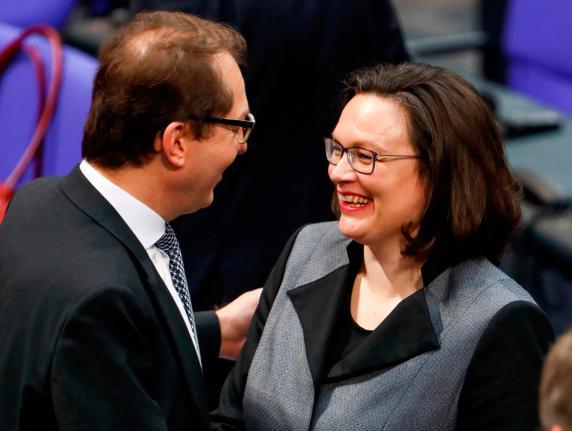 CSU-Landesgruppenchef nimmt Nahles den