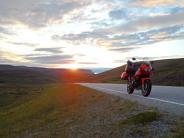 : Mit dem Motorradans Nordkap
