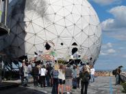 Tourismus: Wo die Spione lauschten: der Berliner Teufelsberg