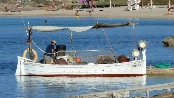 Urlaub in Europa: Kaltes klares Wasser: Formentera in der Vorsaison